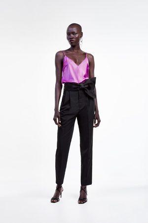Zara Top style lingerie satiné