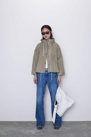 Zara Blouson oversize à capuche