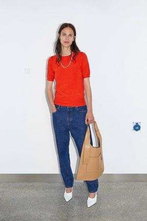 Zara Pull basique à manches courtes