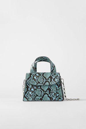 Zara Mini sac à imprimé animalier