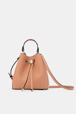 Zara Mini sac seau à clous