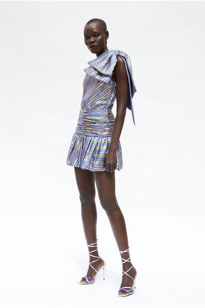 Zara Mini jupe à rayures