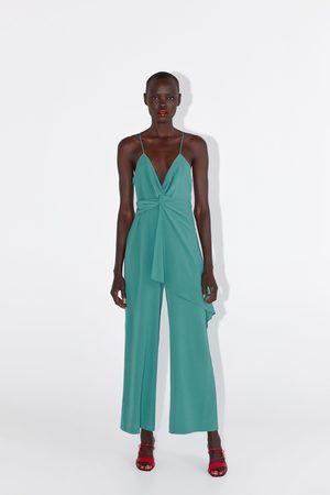Zara Combinaison avec bretelles à nœud
