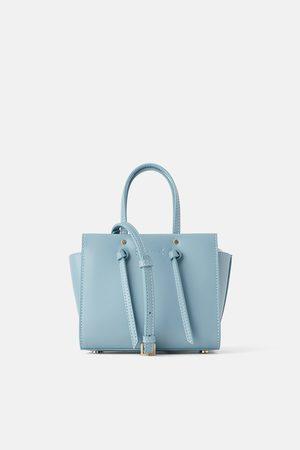 Zara Mini sac de ville avec nœuds