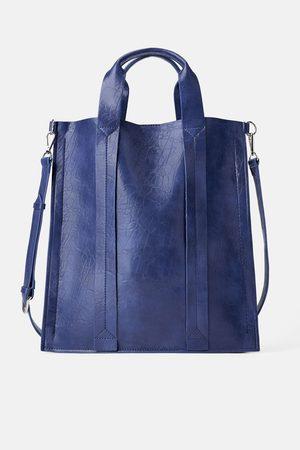 Zara Sac shopper plat