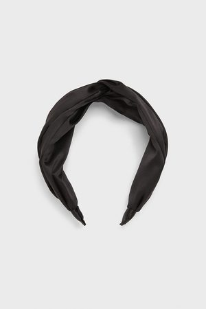 Zara Serre-tête satiné à nœud