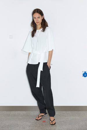 T Fluide Zara Shirts Topsamp; Femme Achetez Comparez Et n0Ow8PZNkX