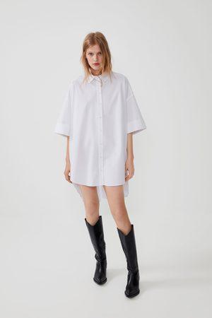 Zara Chemise oversize en popeline