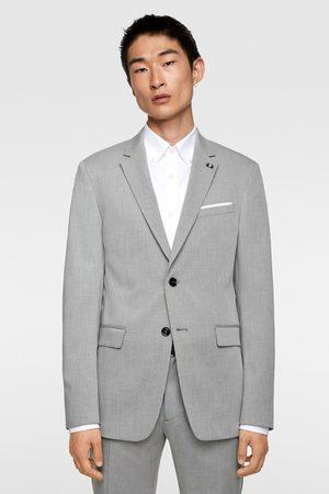 Zara Veste de costume effet chintz confort