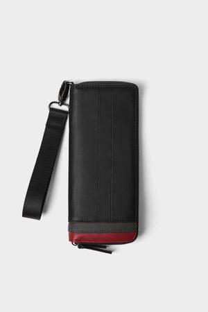 Zara Portefeuille oversize avec contraste de couleur