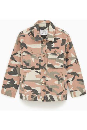 Zara Blouson camouflage