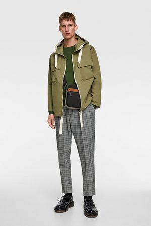 Zara Veste avec capuche et poches