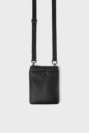 Zara Mini sac bandoulière habillé oversize