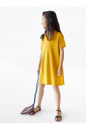 Zara Robe en maille style polo