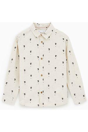 Zara Chemise à palmiers