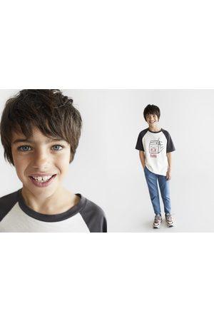 Zara T-shirt milk