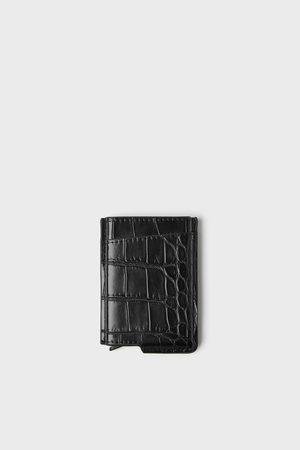 Zara Porte-cartes fonctionnel gravé