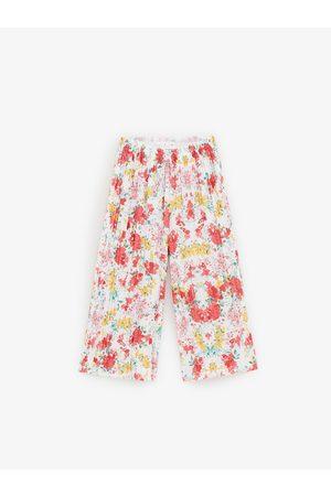 Zara Jupe-culotte à fleurs