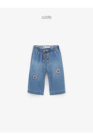 Zara Jupe-culotte en jean à pièces