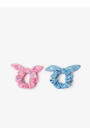 Zara Lot de deux chouchous à fleurs