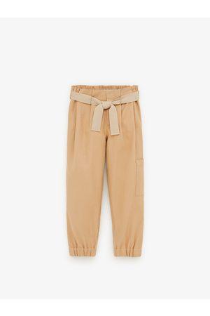 Zara Pantalon de jogging à ceinture