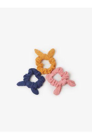 Zara Lot de trois chouchous texturés