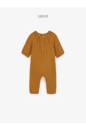 Zara Bébé Bodys bébé - Combinaison en matières variées avec relief