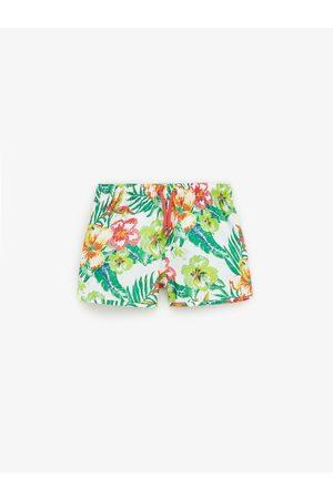 Zara Short de bain à fleurs