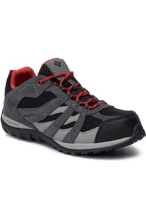 Columbia Chaussures de trekking - Youth Redmond Waterproof BY2857 Black/Flame 012