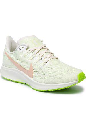 Nike Femme Chaussures - Chaussures - Air Zoom Pegasus 36 AQ2210 002 Phantom/Bio Beige/Barely Volt