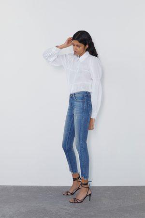 Zara Jean z1975 taille normale skinny à fentes