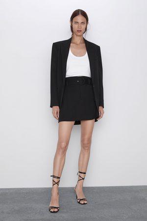Zara Femme Mini-jupes - Mini jupe à ceinture