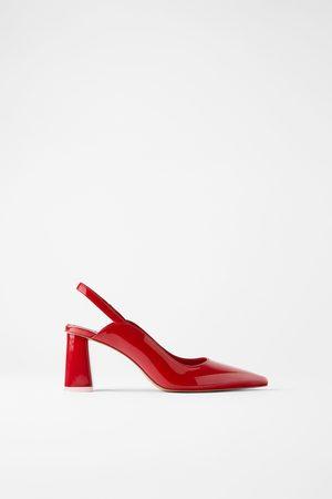 Zara Femme Chaussures - Chaussures à talons larges ouvertes à l'arrière