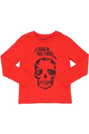 Zadig & Voltaire T-shirt En Jersey Imprimé Crâne