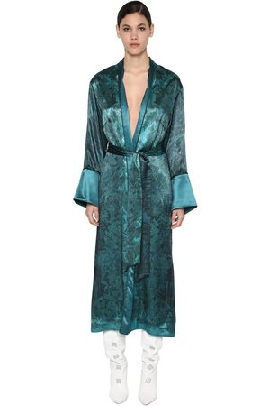 Long F Printed Dust Restless Sleepers Coat s Viscose r Luisaviaroma For Cuproamp; gbf7y6