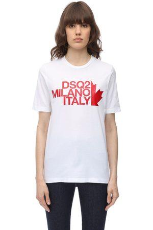 Shirt T Renny Luisaviaroma Dsquared2 Fit Cotton Jersey vwN8nm0
