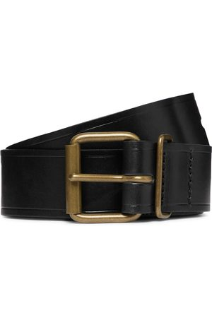 BLEU DE CHAUFFE Fred 4cm Leather Belt