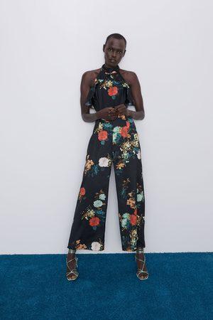Zara Combinaison à ouvertures et imprimé floral