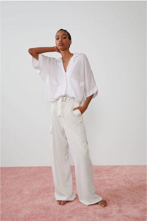 Zara Chemise fluide à poches