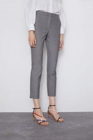 Zara Pantalon à taille jogging