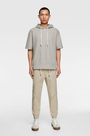 Zara Pantalon de jogging structuré