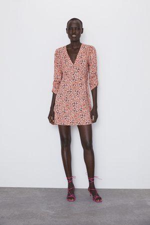 Zara Robe courte imprimée