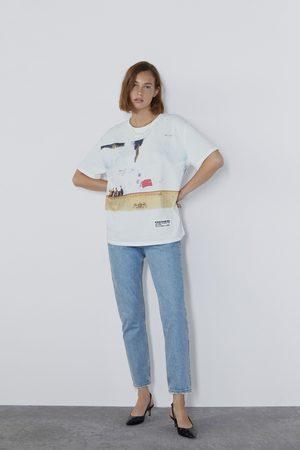 Zara T-shirt à imprimé ©radiohead