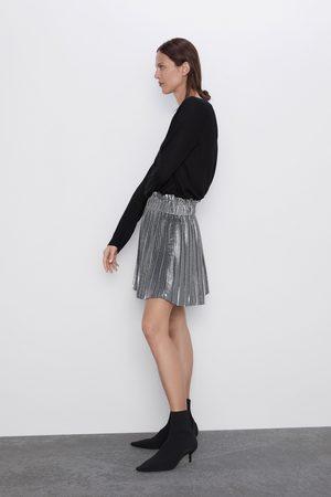 Zara Mini jupe plissée