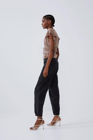 Zara Haut plissé à volants