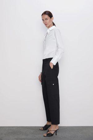 Zara Pantalon cargo à poches