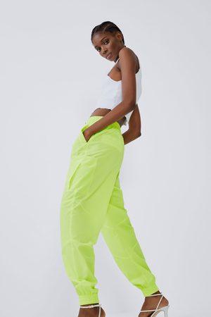 Zara Pantalon de jogging en nylon