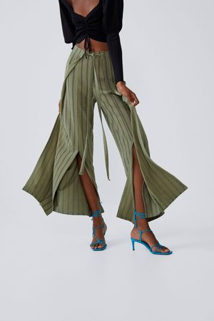 Zara Pantalon portefeuille avec nœud
