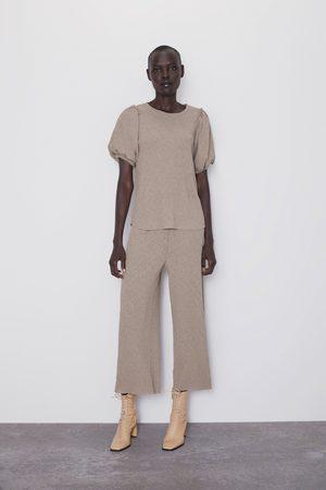 Zara Pantalon effet froissé