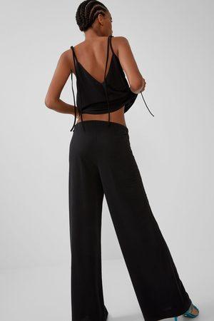 Zara Pantalon fluide large
